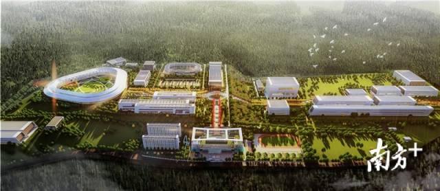 两大科学装置项目最新效果图首次公开。项目业主方惠州离子科学研究中心供图