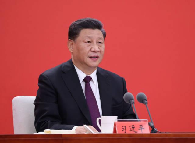 10月14日,深圳经济特区建立40周年庆祝大会在广东省深圳市隆重举行。中共中央总书记、国家主席、中央军委主席习近平在会上发表重要讲话。新华社记者 鞠鹏 摄