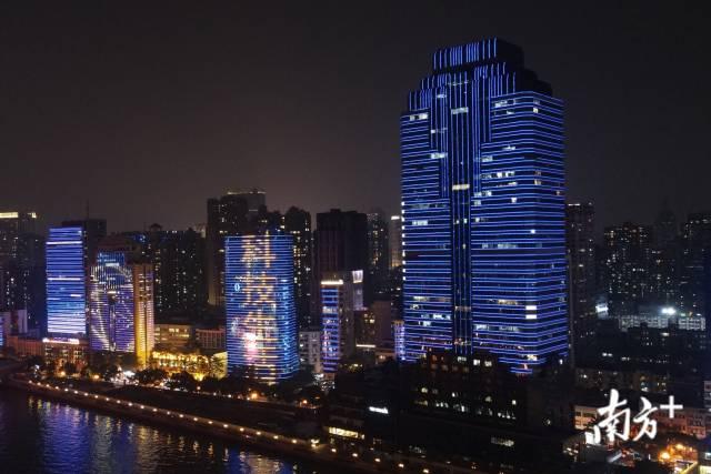 """本届广州灯光节将采用""""1+3模式""""。"""